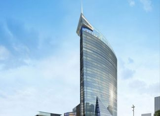 An artist's render shows the Sofitel Foshan in China's Guangdong Province.