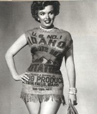 Miss Idaho Potato.