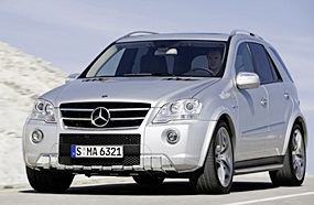 Mercedes-Benz ML 63 AMG.