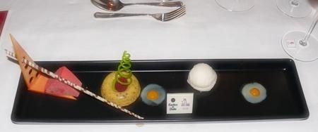 Chef Horst's dessert.
