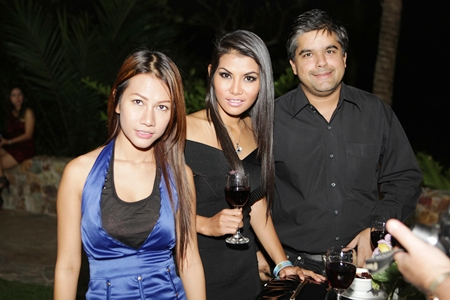 Tony Malhotra ensures he surrounds himself with some beautiful ladies.