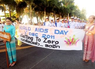 Spreading the message of controlling and eventually eliminating AIDS.
