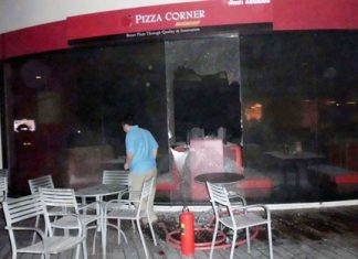 Pizza Corner, Cream & Fudge and Coffee World were gutted by fire Dec. 12.