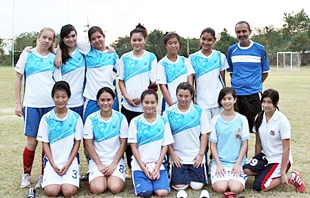 The St Andrews School girls football team were recently crowned ESAC champions.