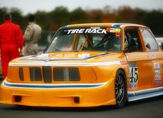 BMW E30 racer like this one.