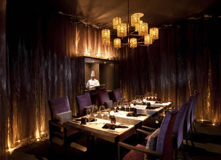Private dining at Flare.