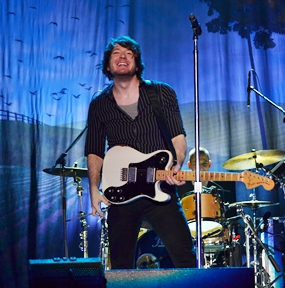 Owl City perform at the Silver Lake Music Festival 2012.
