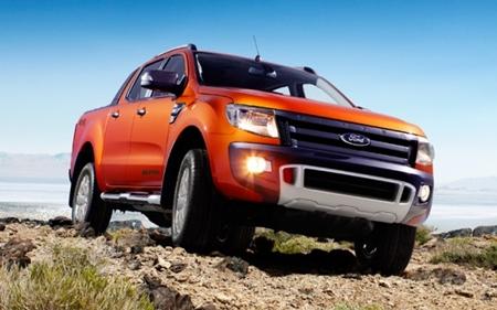 New Ford Ranger.