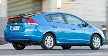 Honda Insight - or out of sight?
