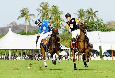 La Sarita and Thai Polo go head to head in the final match.