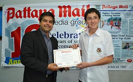 Farruh Khaitov (Year 9)