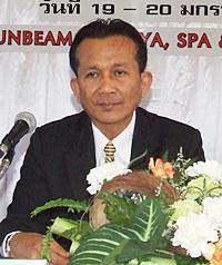 Deputy Permanent Secretary Seksan Nakhwong.