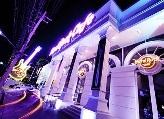The Hard Rock Café Patong.