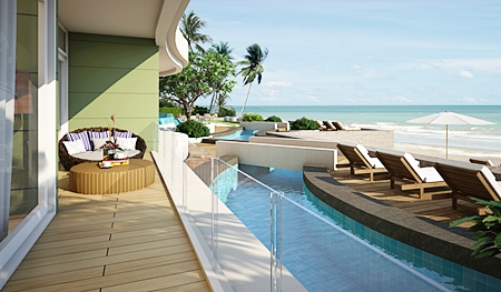 Amazing sea views from all units at Paradise Ocean View.