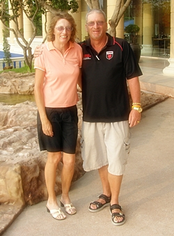 Carole Kubicki & Peter Blackburn.