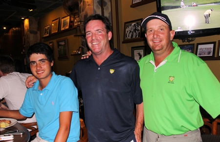 Patrick Kelly, John Mchugh & Steve Weller.