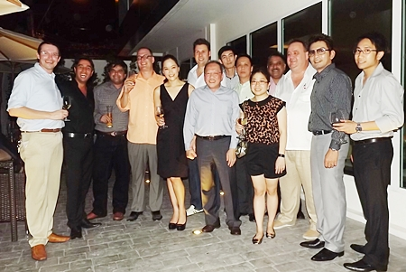 The GM Gang poses for a group picture expressing strong friendships and unity amongst hoteliers in Pattaya and the Eastern Seaboard.