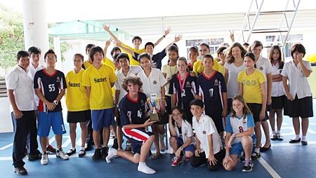 Samet Victors - the winning team.