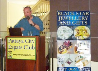 Peter Marsh of Black Star Jewelry explains to the Club the ins and outs of buying Sapphires and Rubies.