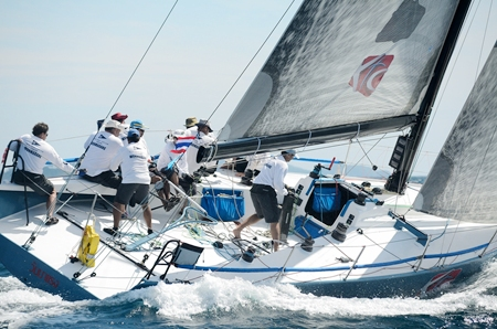 Wan Marang will be one of the local challengers at the 2012 Top of the Gulf Regatta being raced of Ocean Marina, May 4-8. (Photo/Martin Bilsborrow)