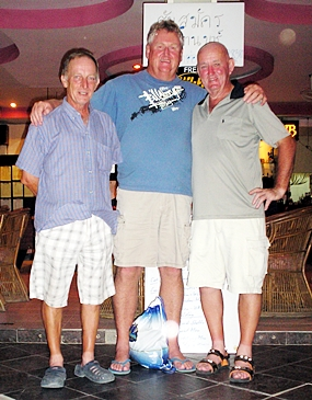 Chris Voller, Ian Plummer and Cully Monks.