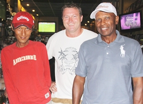 Ken Aihara, John Mulrooney and David Shelton.