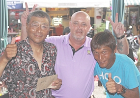 Masao Ishikawa, Dale Shier and Ken Aihara.