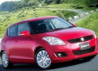 Suzuki Swift eco-car.