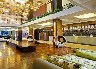 The new lobby at the Holiday Inn Resort Regent Beach Cha-am.