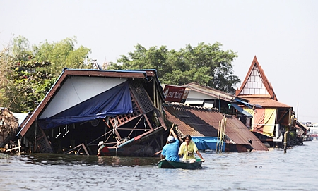 Thailand's first property poll focuses on the aftermath of last year's 'Great Flood.'