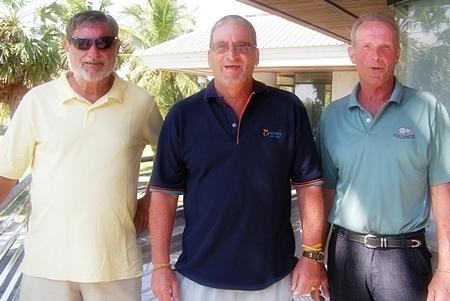 Mike Winfield, Peter Blackburn & Henrik Aargaard.