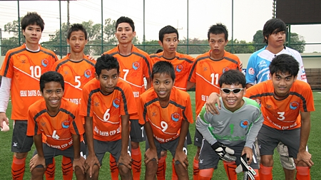 This year's runners up, the Pattaya Orphanage.