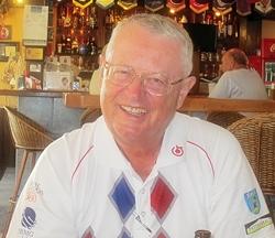 Thursday winner Dick Warberg.