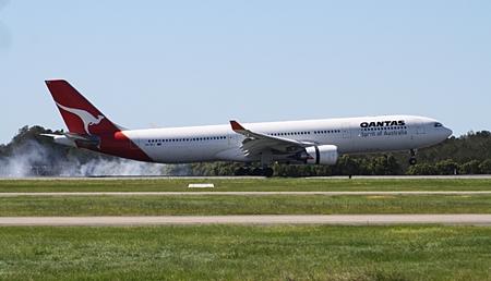 Qantas Airbus A330.