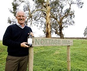 Bill (William) Hardy, winemaker and company ambassador since 1972.