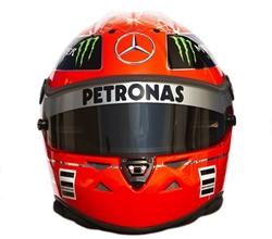 Guess whose helmet.