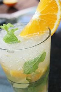 Refreshing Orange Mojitos at Havana Bar & Terrazzo, Holiday Inn, Pattaya.