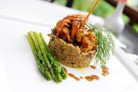 A lobster love affair at Cascade Restaurant.