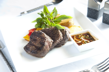Saigonese Steak at Ginger and Lime.