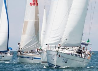 The waters of the Gulf of Thailand will come alive with colour this weekend as over 300 craft are expected to take part in the 2012 Top of the Gulf Regatta. (Photo/MarineScene.asia).