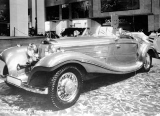 Mercedes-Benz 500K Spezial Roadster.