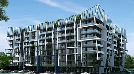 Artist's impression of the completed The Feelture development.