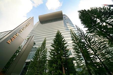 Park Ventures Ecoplex in Bangkok.