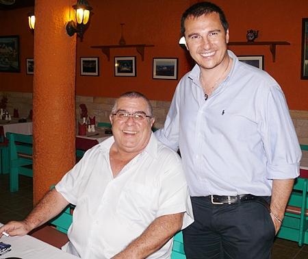 Joe Parlati and Massimo Marai.