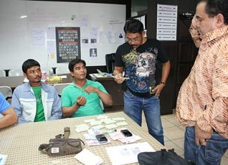 Anurak and Theerapong Sukhkasem have been arrested for illegal money lending and threatening customers who didn't pay.