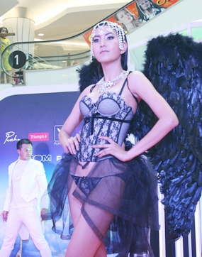 Miss Maxim 2007 Kathayawan Noinawet shows how she is truly a Secret Angel.