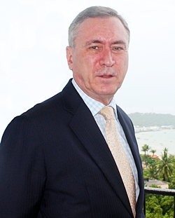 Kingdom Property CEO Nigel Cornick talks about his new Southpoint condominium project in an exclusive interview with Pattaya Mail Real Estate Monthly.