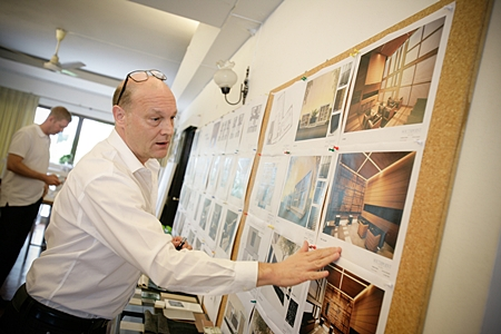 Award winning architect Stephen O'Dell unveils his interior designs for Southpoint.