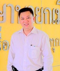 Khomkrit Prasitnarit, secretary to the president of Walking Street community and advisor to the president of Pattaya's Tourism and Sports committee, wishes for Pattaya Mail to continue broadcasting news correctly and justly.