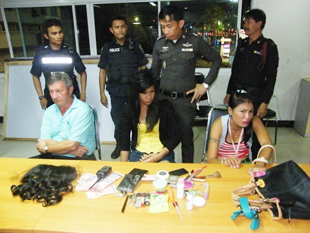 Anusorn Jumsuwan and Laddawan Prachumchai have been charged with pick-pocketing Italian Walter Schweigkofler.